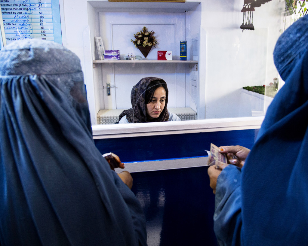 Knappt en av fyra gravida kvinnor i Afghanistan har tillgång till mödravård. Brittiska biståndsorganisationen Marie Stopes international driver kvinnokliniker över hela landet.